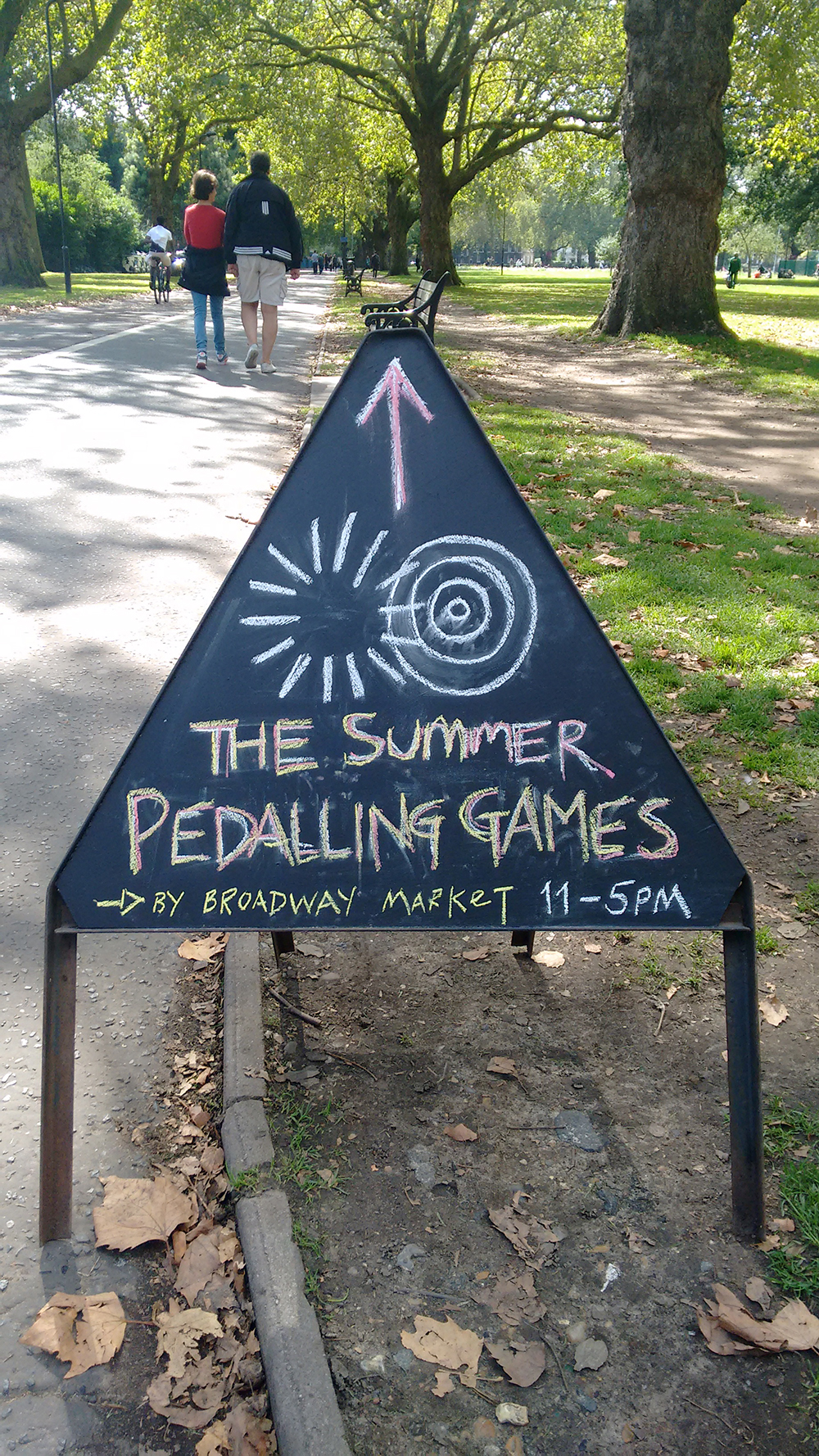 The Summer Pedalling Games